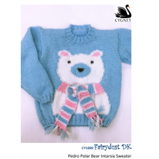 Pedro Polar Bear Intarsia Sweater