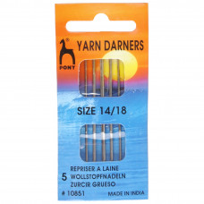 Hand Sewing Needles: Darners: Gold Eye: Size 14-18