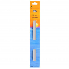 Knitting Pins: Double-Ended: Set of Four: 20cm x 2.75mm