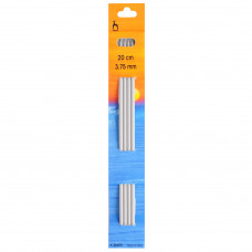 Knitting Pins: Double-Ended: Set of Four: 20cm x 3.75mm