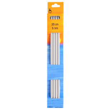 Knitting Pins: Double-Ended: Set of Four: 20cm x 5.00mm