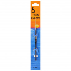 Pony Crochet Hook 12cm 0.75mm